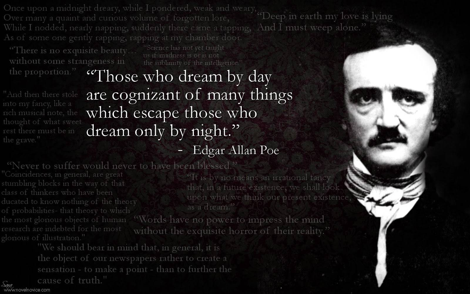 essay on edgar allan poe death