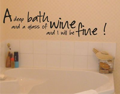 Bath quotes and sayings quotesgram for Bathroom quote ideas