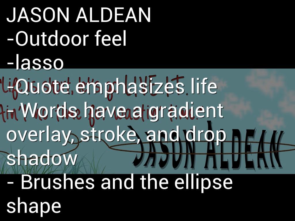 jason aldean quotes about life