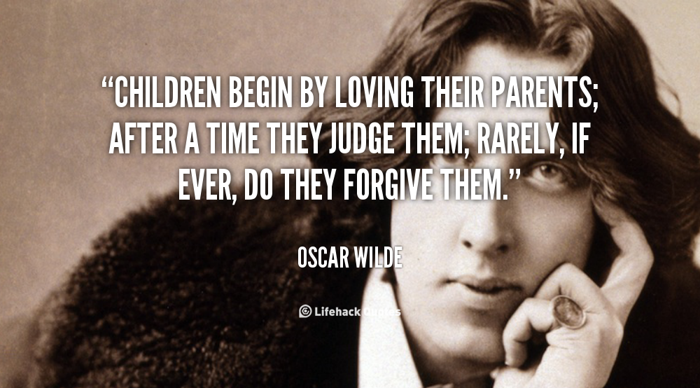 children begin by loving their parents On the average, about five parents are killed by their biological children in the   typically this behavioral pattern begins in childhood  these parents often love  their children very much and do not want to fight with them over little things.