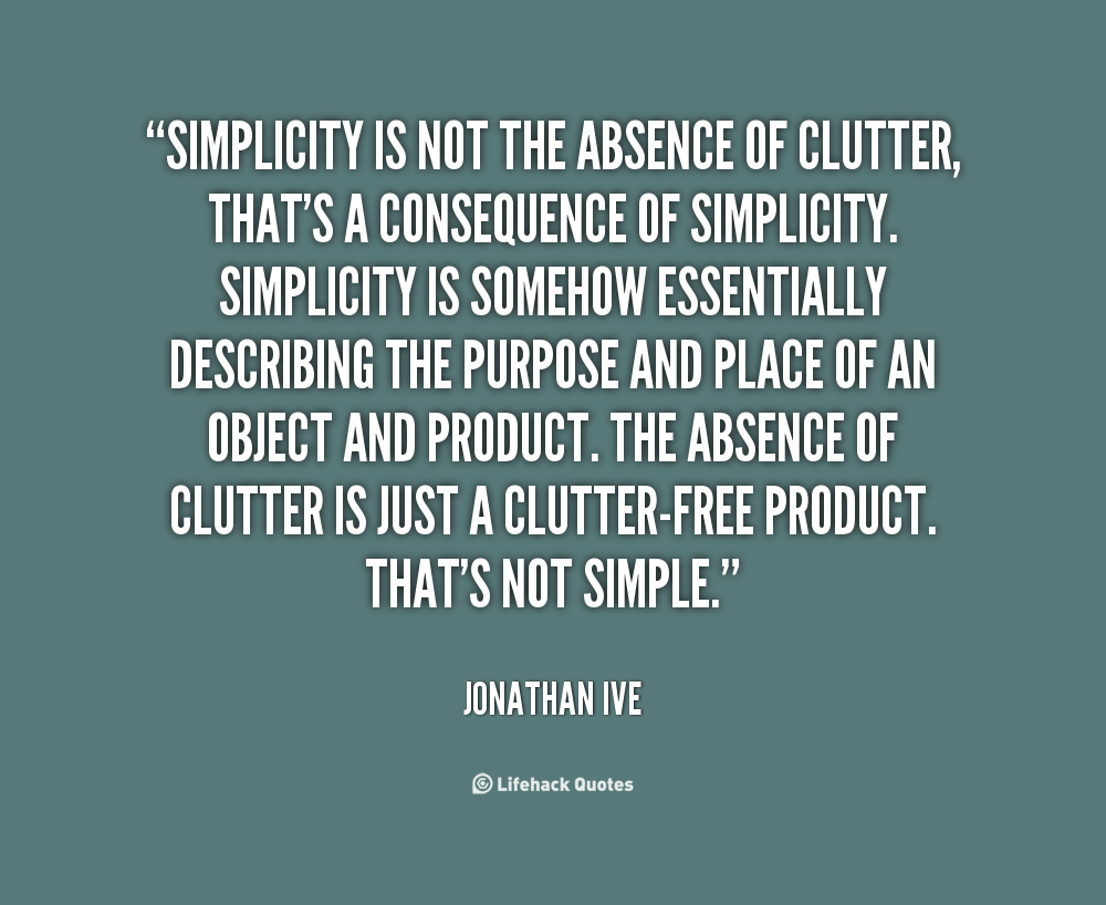 Simplicity Of Life Quotes. QuotesGram