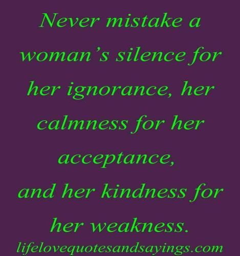 Silence Love Quote: Silence Quotes And Sayings. QuotesGram
