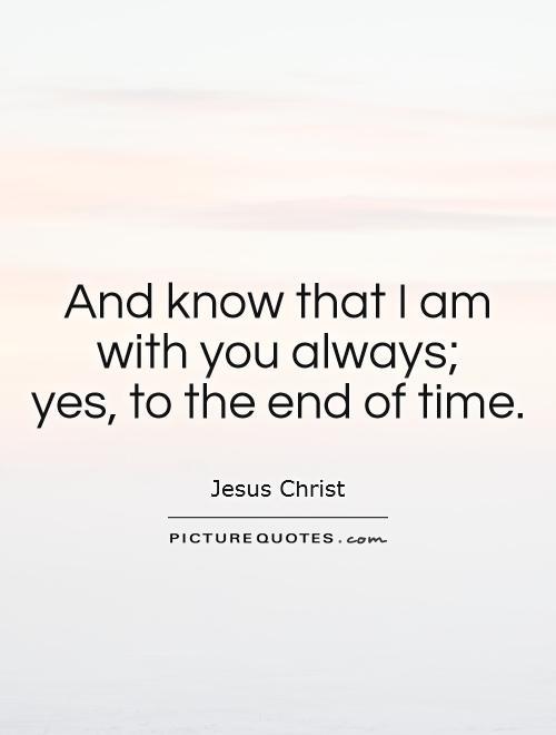 End Times Jesus Quotes. QuotesGram