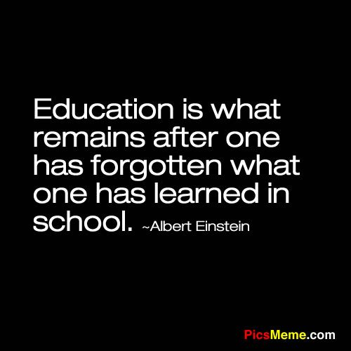 Education Is Liberation Quote: Einstein Quotes About School. QuotesGram