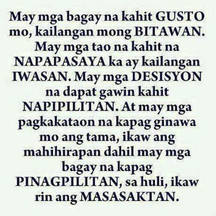 Hurt Quotes For Him Tagalog