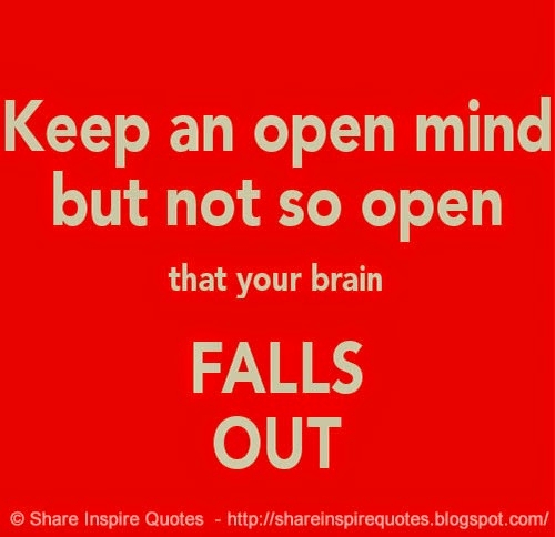 how to keep an open mind in a relationship