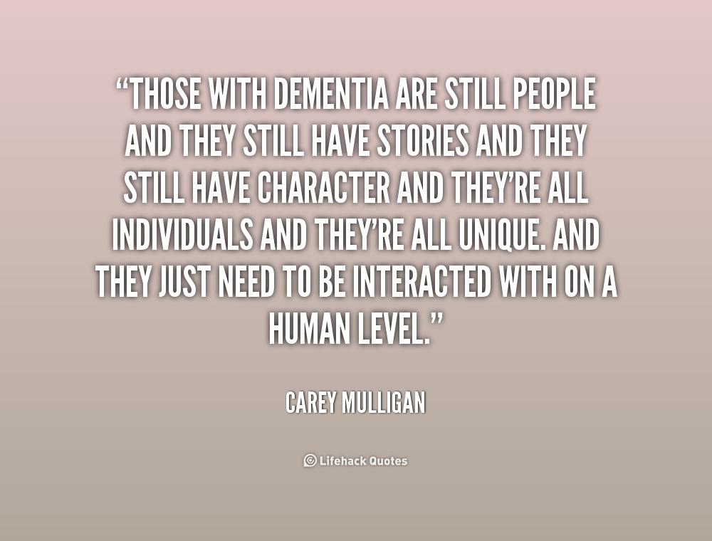 Quotes And Poems About Dementia. QuotesGram Carey Mulligan Dementia