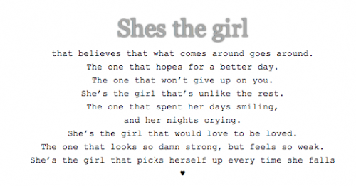 Shes The Type Of Girl Quotes. QuotesGram