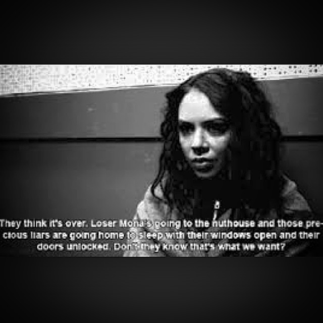 Pretty Little Liars Quotes: Pretty Little Liars Mona Quotes. QuotesGram