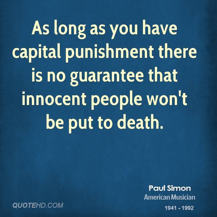 define capital punishment essay