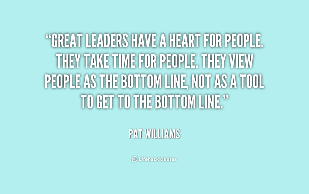 Quotes From Great Leaders Quotesgram
