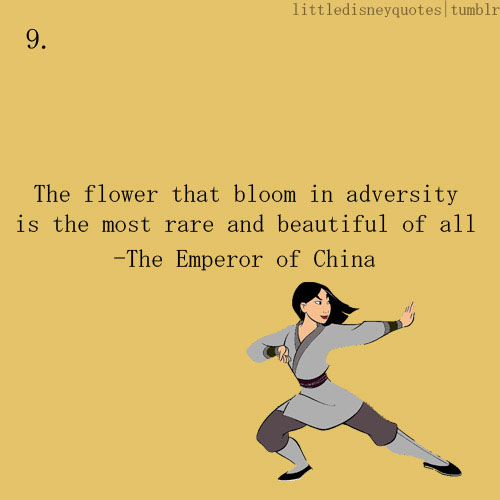 Mulan Emperor Quotes. ...