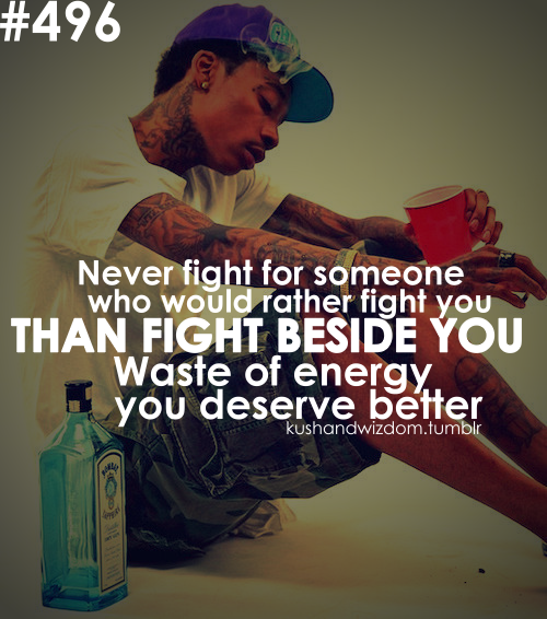 Kushandwizdom Tumblr Quotes: Wiz Khalifa Quotes About Relationships. QuotesGram
