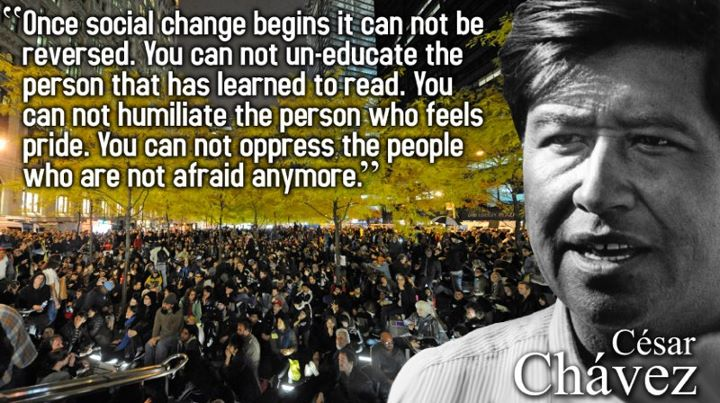 Popular Quotes From Cesar Chavez Quotesgram