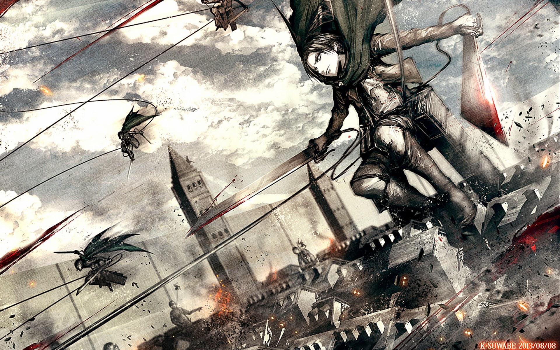 Anime Attack On Titan Quotes Quotesgram