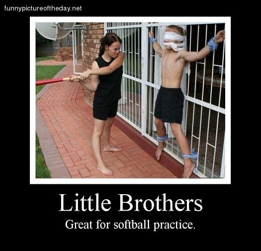 Little Brother Funny Quotes QuotesGram