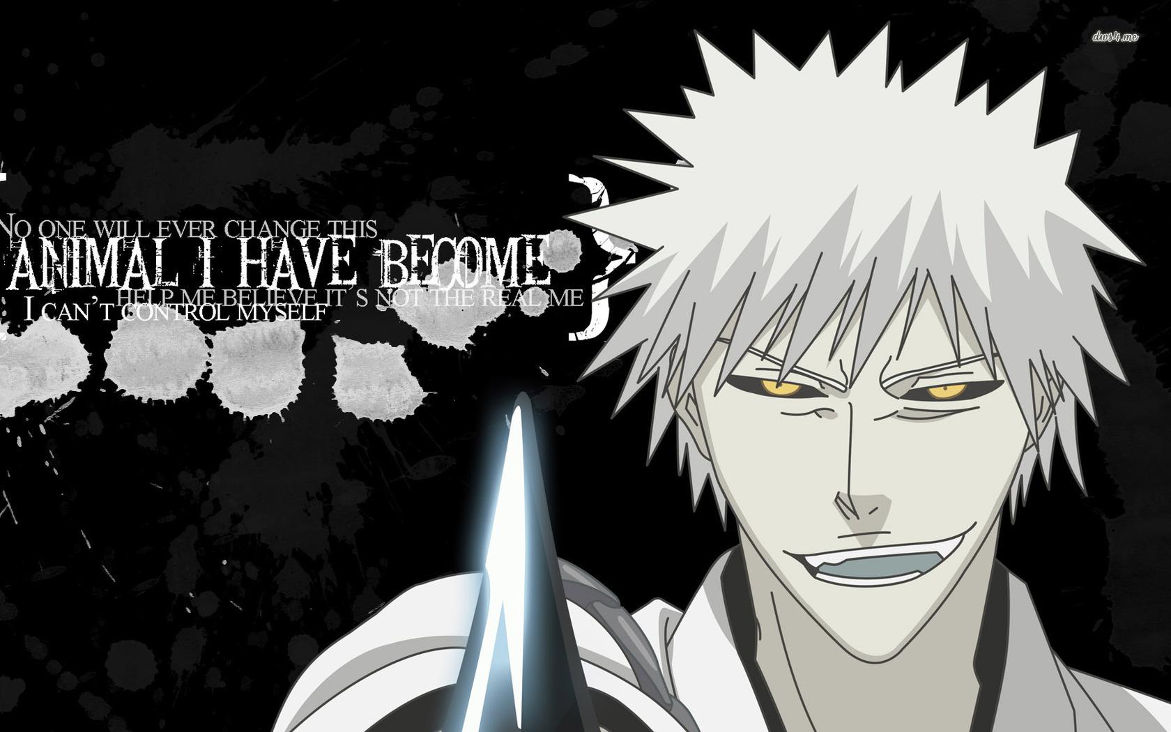 Hichigo bleach quotes quotesgram - Anime quotes wallpaper ...