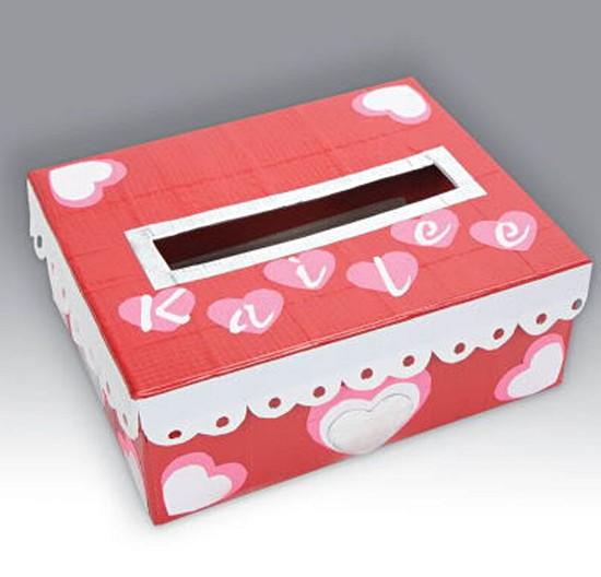Valentine Decorated Boxes: Shoe Box Decorating Ideas Quotes. QuotesGram