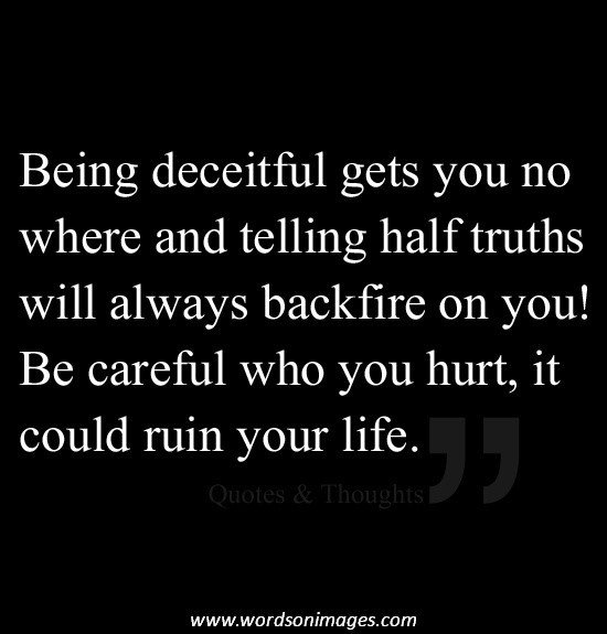 inspirational quotes about deception quotesgram