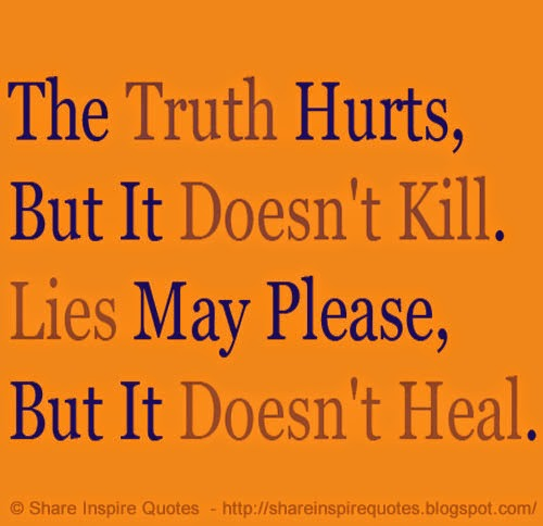 Truth Hurts Funny Quotes. QuotesGram