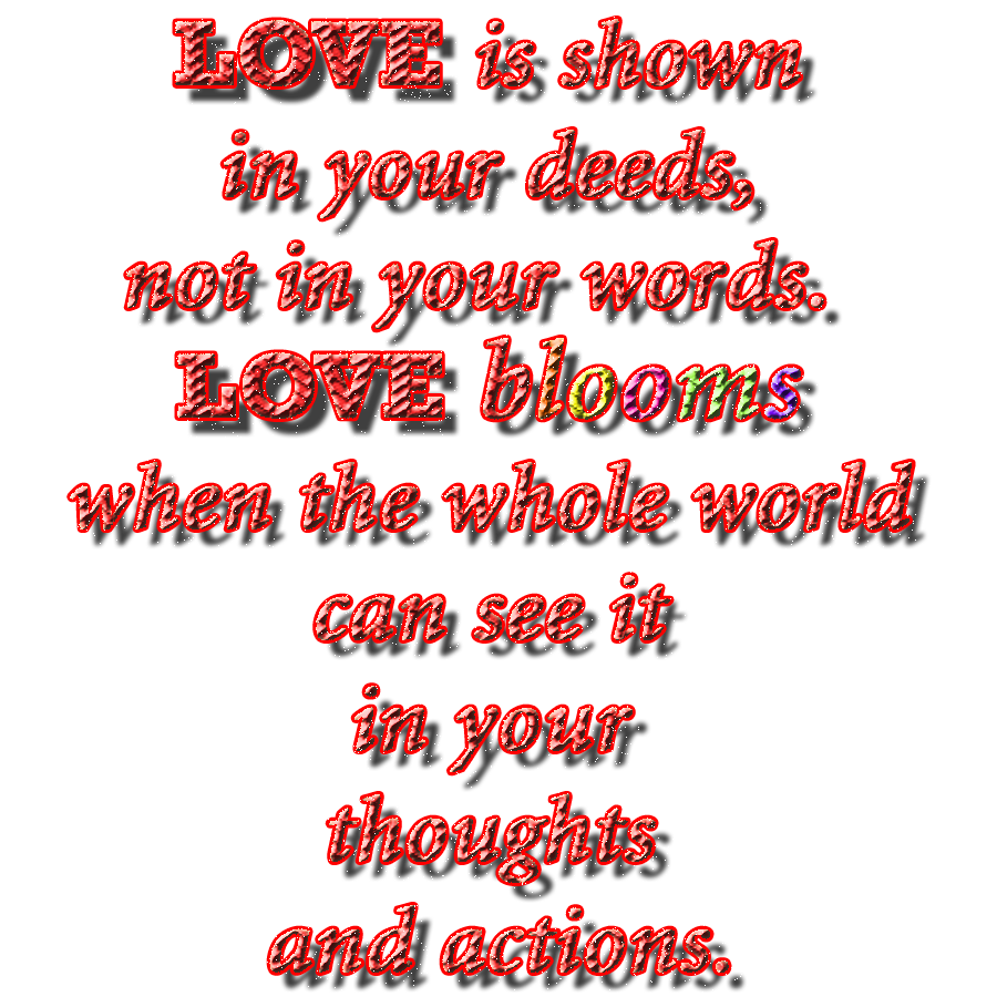 Love In Action Quotes: Quotes Love Is Action. QuotesGram