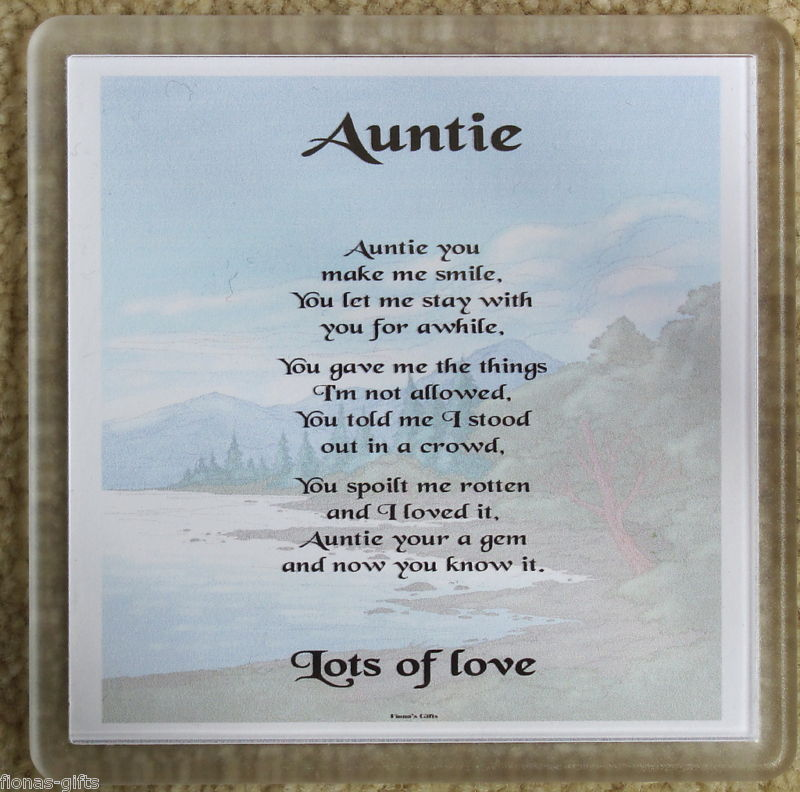 Aunt Poems And Quotes. QuotesGram