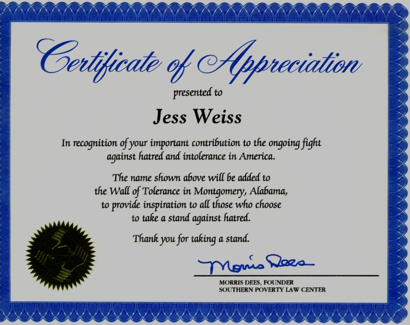 Certificate of appreciation quotes quotesgram for Work anniversary certificate templates
