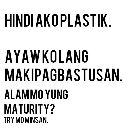 Plastic Quotes Tagalog About People. QuotesGram