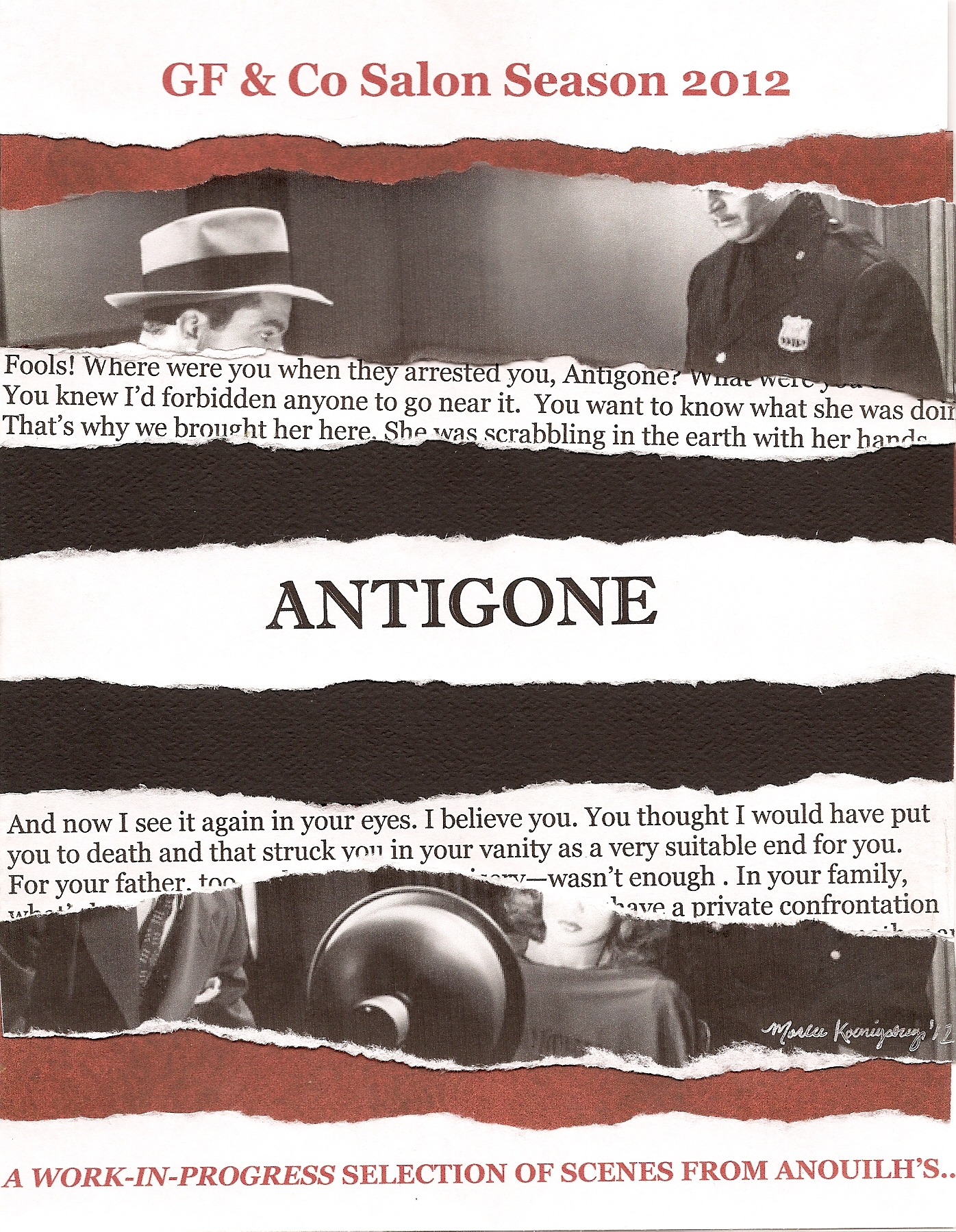 pride and antigone