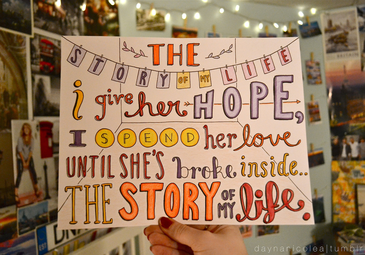 One Direction Story Of My Life Quotes. QuotesGram