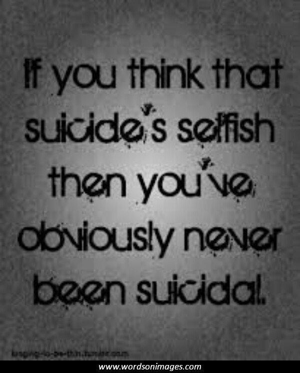 Suicide Death Quotes Quotesgram: Suicide Quotes And Sayings. QuotesGram