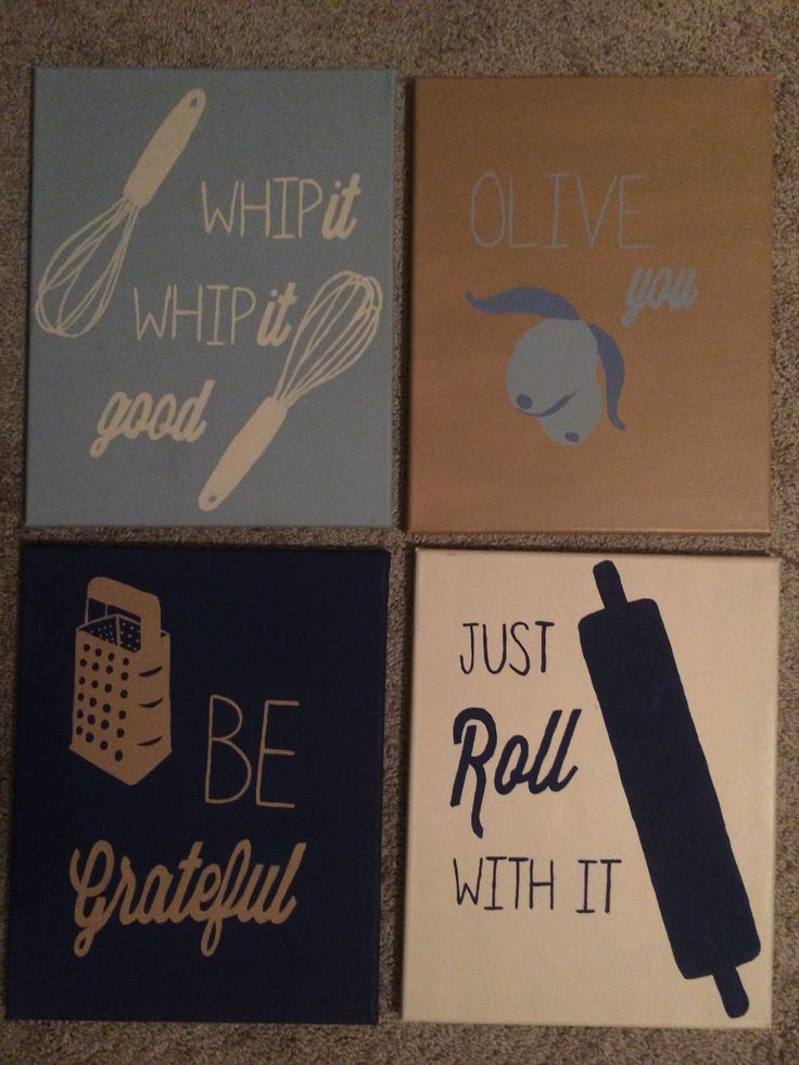 Kitchen Quotes On Canvas Quotesgram