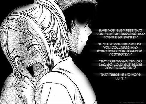Best Anime Quotes Suicide Quotesgram: Sad Anime Quotes. QuotesGram