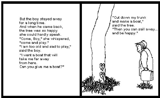 The Giving Tree Quotes: Giving Tree Shel Silverstein Quotes. QuotesGram