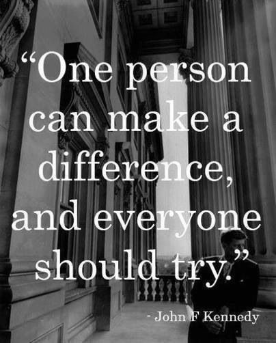 Inspirational Quotes About Positive: Making A Difference In The Lives Of Others Quotes. QuotesGram