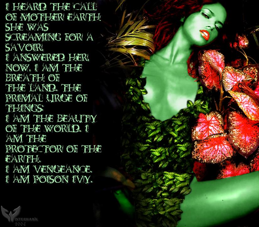 Poison Ivy Batman Quotes Quotesgram