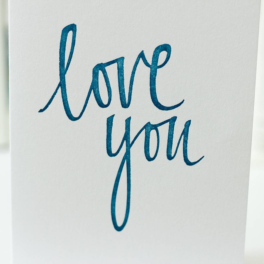 Calligraphy love quotes quotesgram I love you calligraphy