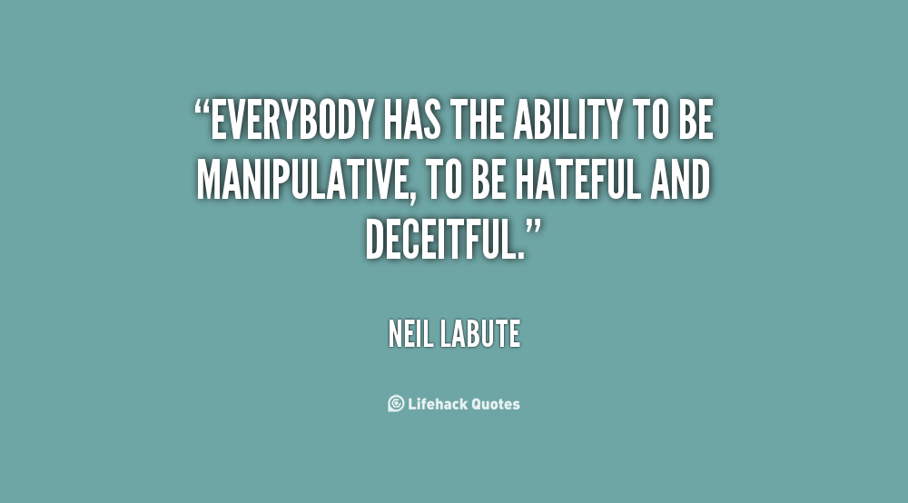 Manipulative People Quotes. QuotesGram
