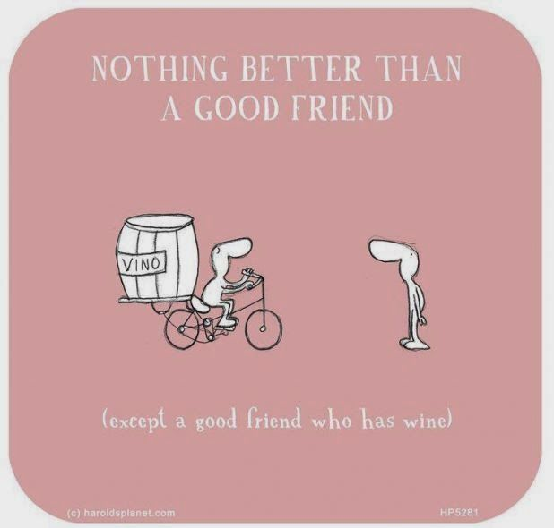 Wine Funny Quotes Friends Quotesgram