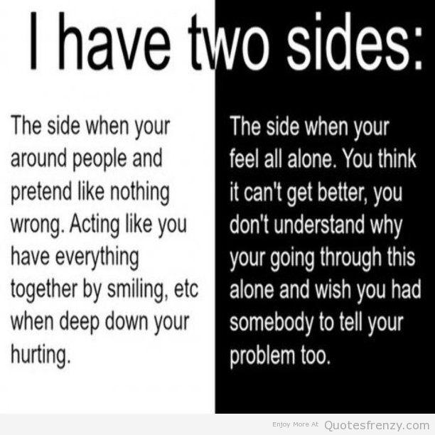 Hiding Depression Quotes. QuotesGram