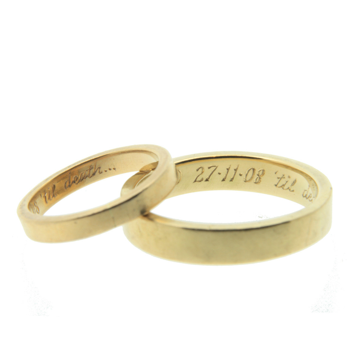 wedding ring inscriptions bernit bridal