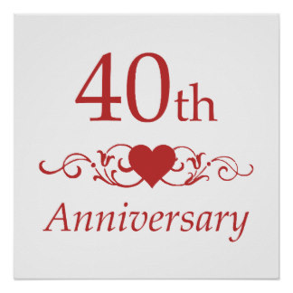 40th Wedding Anniversary Quotes Quotesgram