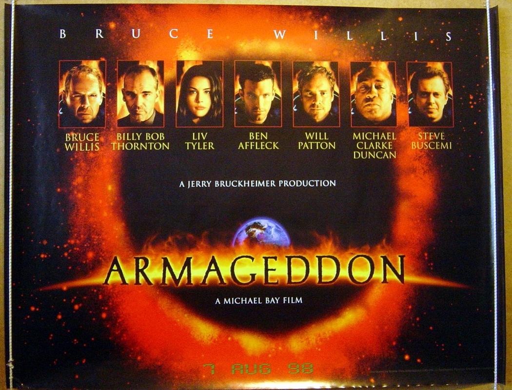 armageddon movie poster - HD1050×800