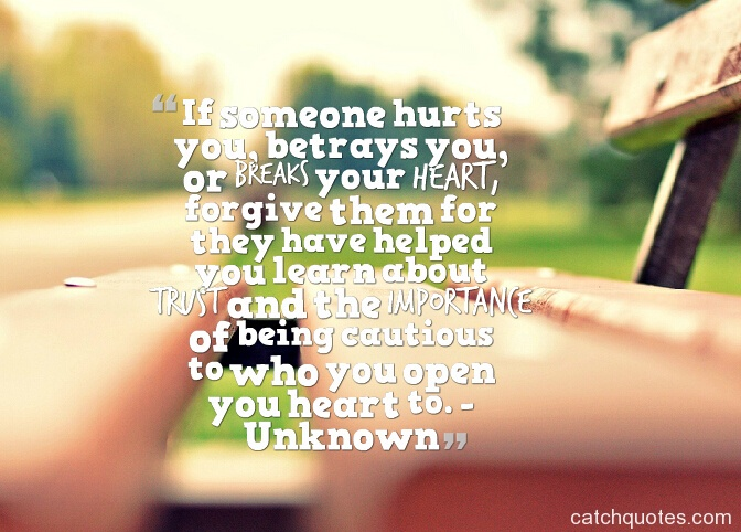 Who is someone your when is for broken breaking heart Read This