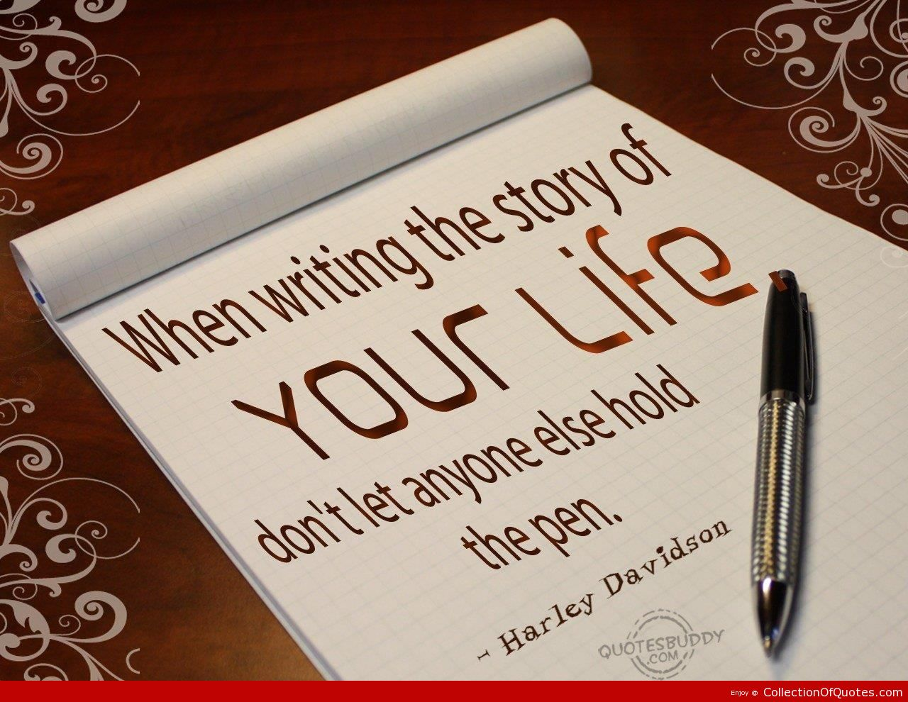 how to write quotes in a story