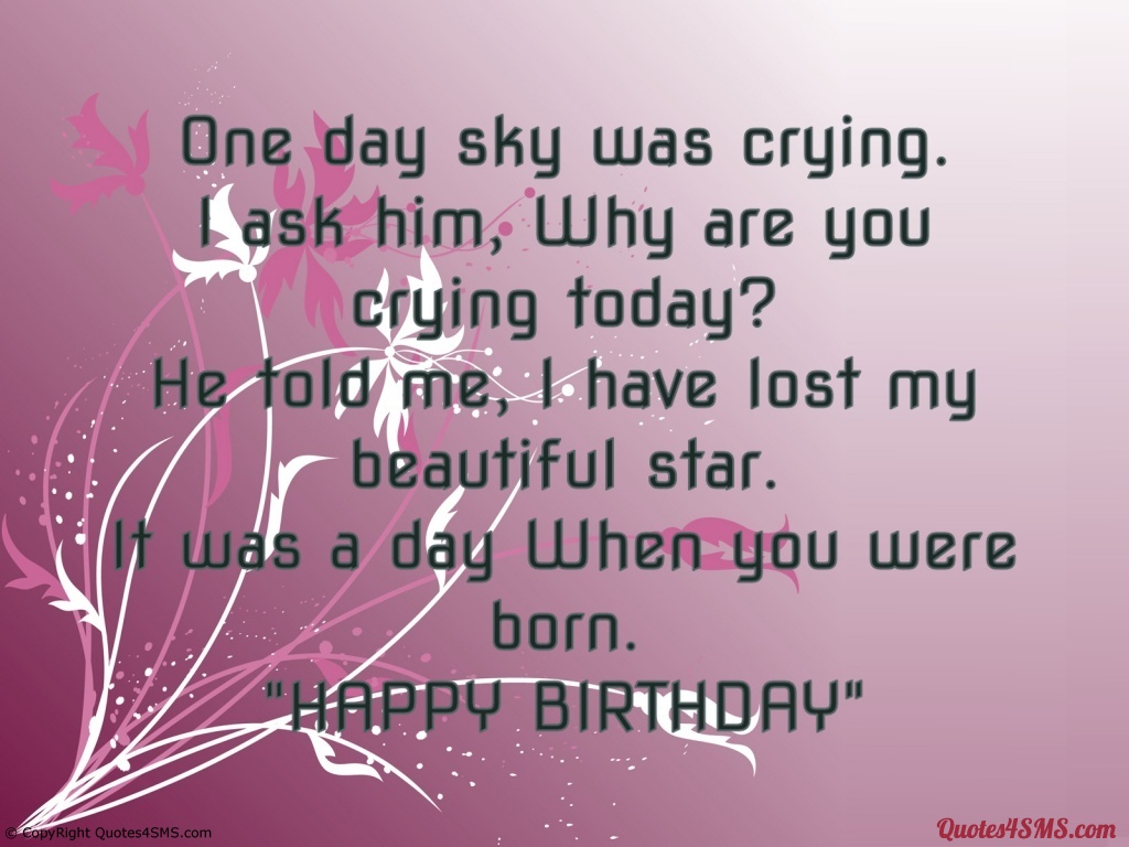 Happy Birthday Quotes For Him Quotesgram