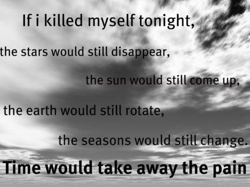 Depressing Quote On Tumblr: Sad Quotes About Suicide. QuotesGram