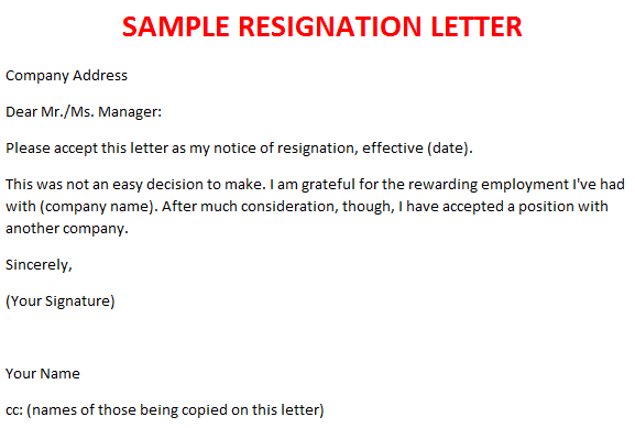 famous resignation quotes  quotesgram