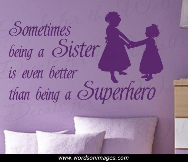 I Love My Sister Picture Quotes: I Love My Sister Quotes. QuotesGram