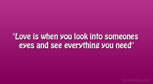 Looking Into Someones Eyes Quotes. QuotesGram